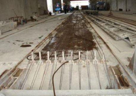 تصویر 2 بتن پیس تنیده - سقف پس کشیده - استوارسازان