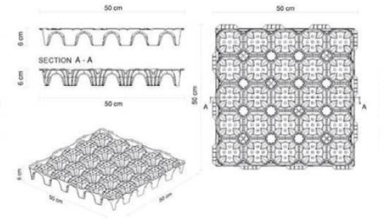 سقف کوپلکس - استوارسازان