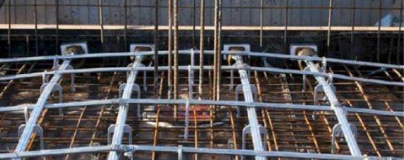 سقف پس کشیده و پیش تنیده - استوارسازان