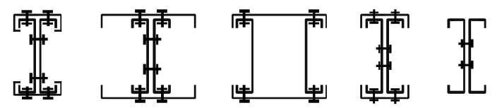 مقاطع در سقف CFS - استوارسازان