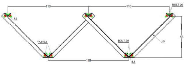 اجزای مختلف سقف کلالیت - استوارسازان