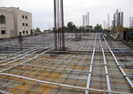 سقف ساختمان پس کشیده - سقف پس کشیده - استوارسازان