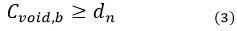 رابطه سوم تعیین ضخامت بلوک شاردک - سقف شاردک - استوارسازان