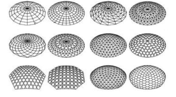 سازه های فضاکار چوبی 1 - سقف های فضایی - استوارسازان