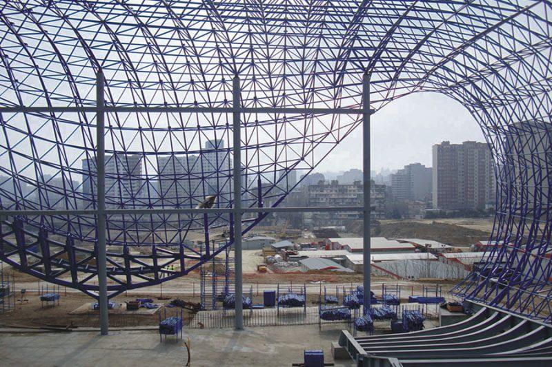 سقف زنبوره ای - سقف های فضایی - استوارسازان