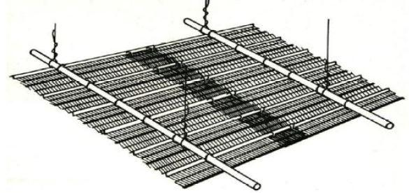 شیوه بستن روفیکس برای ساخت سقف کاذب - سقف روفیکس - استوارسازان