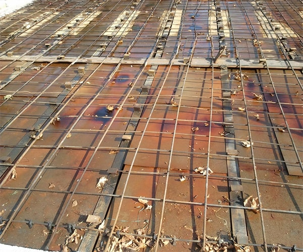 آرماتور بندی سقف کامپوزیت - استوارسازان