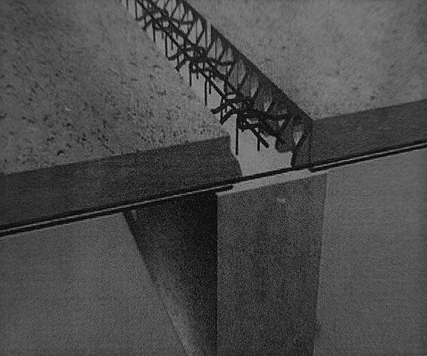 اتصال سقف به تیر های بلند میانی - سیستم پیشساخته بتنی - استوارسازان