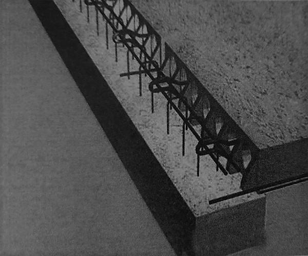اتصال سقف به تیر های کوتاه محیطی - سیستم پیشساخته بتنی - استوارسازان