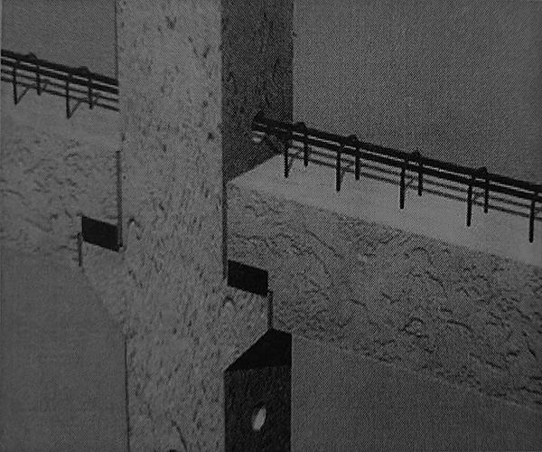 اتصال تیر های کوتاه به ستون در طبقات - سیستم پیشساخته بتنی - استوارسازان