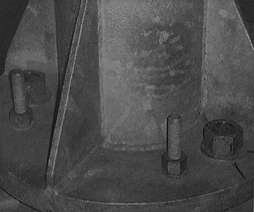 اتصال صفحه پای ستون با بتن - ساختمان های فولادی نورد گرم - استوارسازان