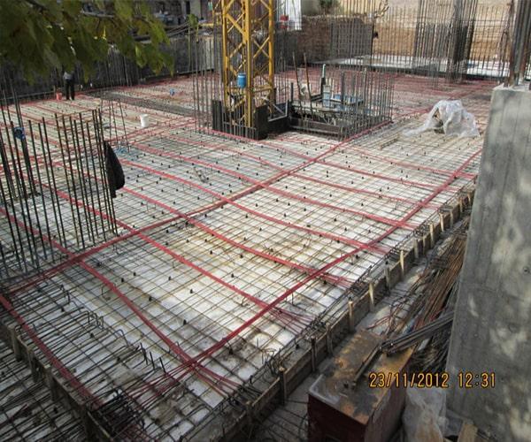 قالب بندی سقف پس کشیده - استوارسازان