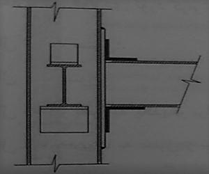 اتصال ساده نشسته - ساختمان های فولادی نورد گرم - استوارسازان