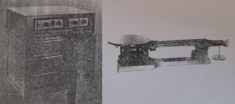 دستگاه آون و ترازوی آزمایشگاهی - آزمایش تعیین وزن حجمی چوب - استوارسازان