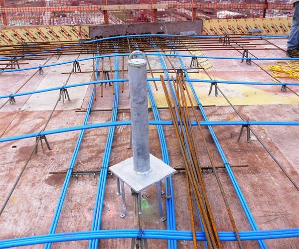 دال های پیش تنیده سقف پس کشیده - استوارسازان