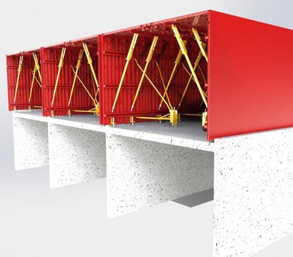 تصویر 4 سیستم بتنی قالب تونلی - استوارسازان