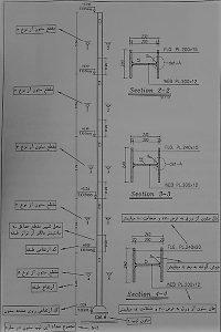 جزئیات ساخت ستون - نقشه خوانی ستون های بتنی - استوارسازان