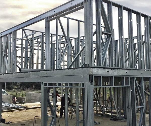 سیستم قاب فولادی سبک نورد سرد (ساختمان lsf) 4 - استوارسازان