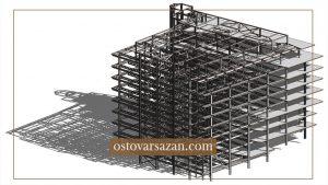 ساختمان های فولادی نورد گرم - استوارسازان