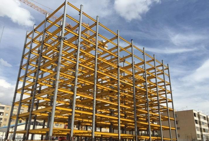 تصویر 1 ساختمان های فولادی نورد گرم - استوارسازان