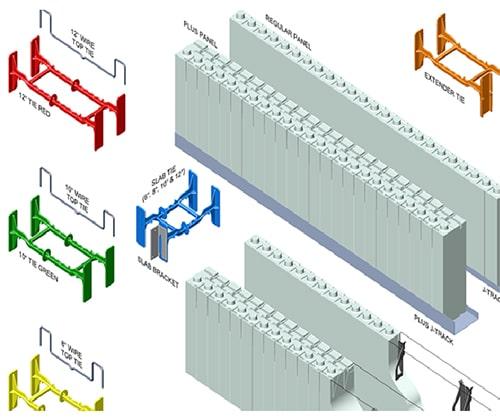 تصویر 4 ساختمان های بتن مسلح با قالب عایق ماندگار - استوارسازان