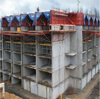 تصویر 6 سیستم بتنی قالب تونلی - استوارسازان
