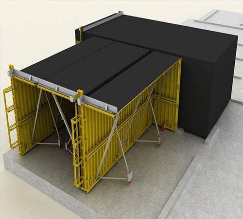 تصویر 3 سیستم بتنی قالب تونلی - استوارسازان
