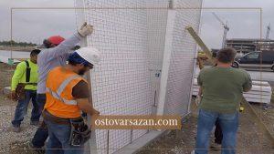 سیستم پانل های سه بعدی - استوارسازان