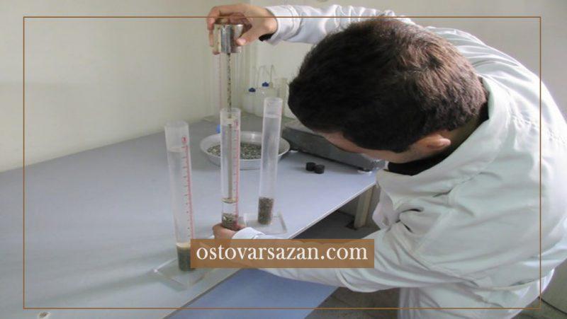 مرحله به مرحله آزمایش تعیین ارزش ماسه ای - استوارسازان